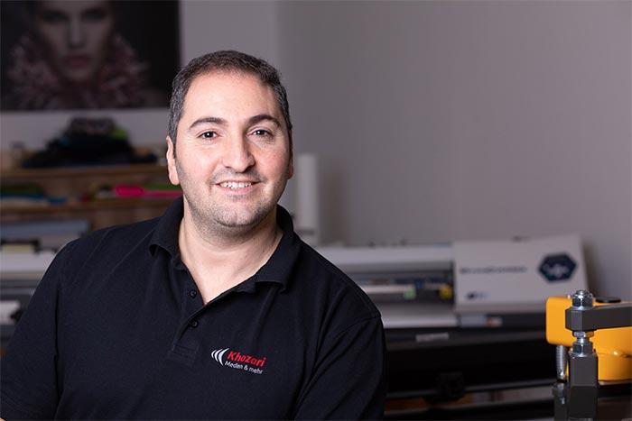 Mazen Khozari (Geschäftsführer)