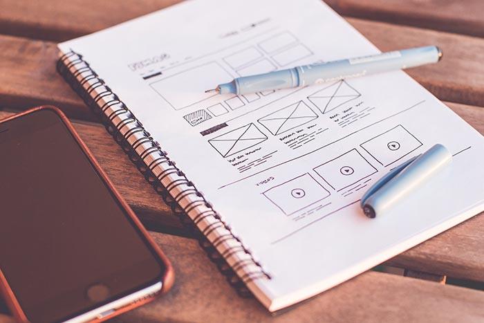 Webdesign Konzepterstellung
